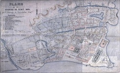 A 19th-century map of Cebu City