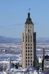 The Price Building in Quebec City, Canada (1930)