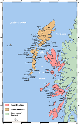 The Inner and Outer Hebrides
