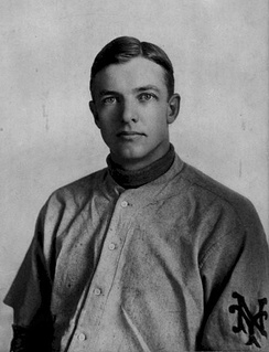 Mathewson in his New York Giants uniform