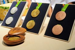 The 2016 Summer Olympics medals