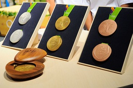 Medals of the 2016 Summer Olympics