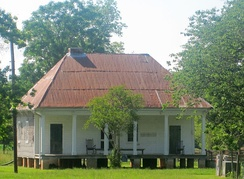 Overseer's house at Oakland Plantation near Natchitoches, Louisiana