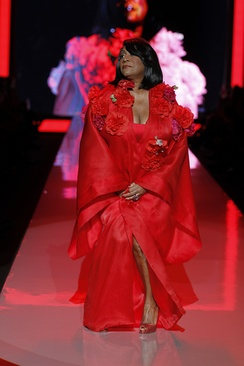 Patti LaBelle in Zang Toi at The Heart Truth's Red Dress Collection Fashion Show, 2011
