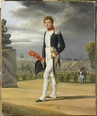 Philippe Lenoir, (1785–1867), French painter, in his National Guard uniform. By Horace Vernet (1789–1863)