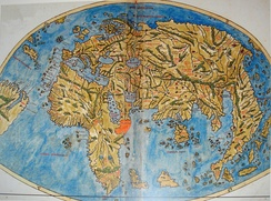 The world map by Pietro Coppo, Venice, 1520