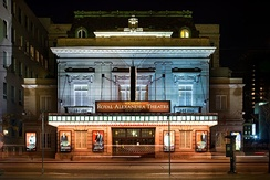 Opened in 1907, the Royal Alexandra Theatre is the oldest continuously operating theatre in North America. Toronto is the third largest centre for English-language theatre, behind only London and New York City.