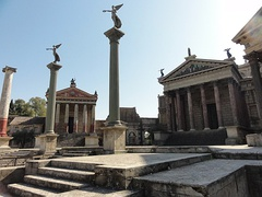 Scenography of the TV series Rome