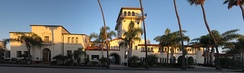 Seal Beach, City Hall.(National Registered Historic Place)