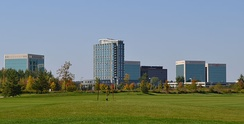 Kanata Research Park is home to many companies, mostly high-tech industries.