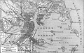A larger view of Boston in 1888 (see also Colonial wide-area view, 1814 map, 1842 map, 1880 railroad map, 1903 map)