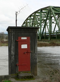 Stream Gaging Station, Carnation, Washington