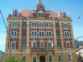 The Directorate of MÁV in Szeged (designed by Ferenc Pfaff in 1894)