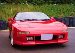 TRD2000GT, the bodykit gives a wider, more aggressive stance.