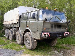 Tatra T813 prototype had CTIS already in 1960, it later became standard for all Tatra military trucks.