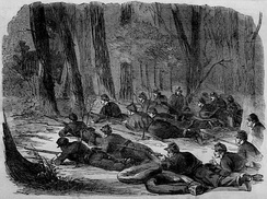 The Army of the Potomac – Our Outlying Picket in the Woods, 1862