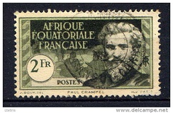 A 1937 stamp of French Equatorial Africa depicting Paul Crampel