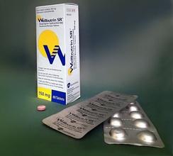 Wellbutrin SR в таблетках по 150 мг