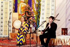 Shashmaqam in the Dushanbe Concert Hall