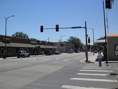 Cleveland Avenue in downtown Loveland