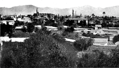 View of Nicosia in 1914