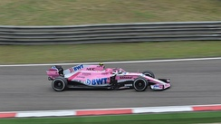 Ocon at the 2018 Chinese Grand Prix