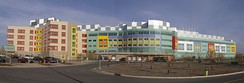 Located in Calgary, Alberta Children's Hospital is the largest pediatric hospital in the province.
