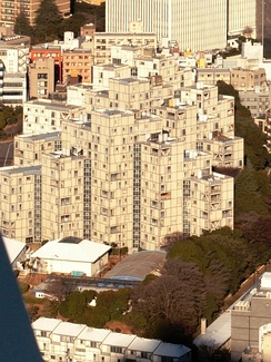 US Embassy Housing Compound in Roppongi-Nichōme