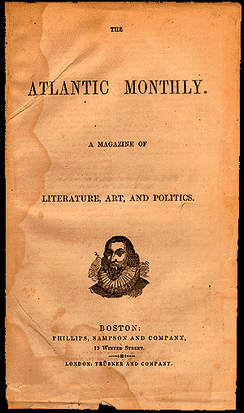 The Atlantic Monthly, 1857