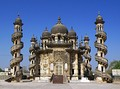 Bahauddin Makbara, mausoleum of the Wazir of Junagadh, Gujarat
