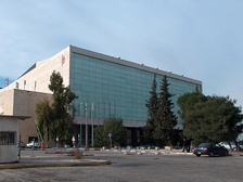 Jerusalem. International Convention Centre, venue of 1979 and 1999 contests.