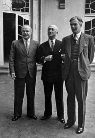 Potsdam Conference: The Foreign Ministers Vyacheslav Molotov, James F. Byrnes and Anthony Eden, July 1945.
