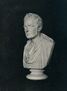 Bust of Thomas De Quincey, by Sir John Steell.