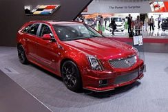 Cadillac CTS-V wagon at the 2012 Paris Motor Show