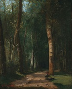 Allée dans une forêt (Road in a Forest), 1859, oil on canvas