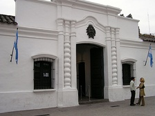Casa de Tucumán, where Argentine Independence was declared.