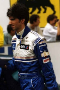 Damon Hill at the 1995 French Grand Prix