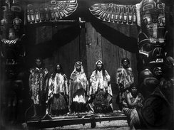 A Kwakwaka'wakw wedding ceremony in 1914