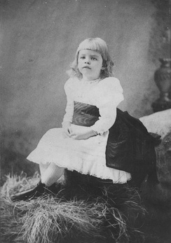 Roosevelt as a child, 1887