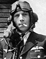 Adjutant Emile Fayolle who fought the battle of Britain as RAF Free French and was shot down by AA (anti-aircraft) during the Battle of Dieppe on August 19, 1942.