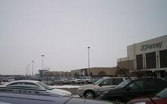 The Fashion Square Mall in nearby Saginaw Township, Michigan, as it appeared in December 2010.