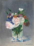 Flowers in a Crystal Vase, 1882, National Gallery of Art