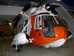 HH-52A Seaguard 'USCG1355' at the National Museum of Naval Aviation in Pensacola FL
