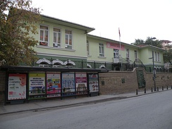 Historical pre-school building in Izmit.
