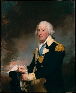 General Horatio Gates, portrait by Gilbert Stuart