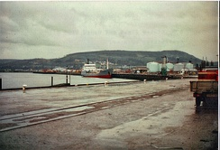 A view of Inverness harbour in 1999