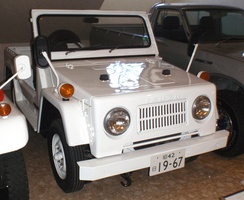 1967 Isuzu Unicab, a two-wheel-drive utility vehicle