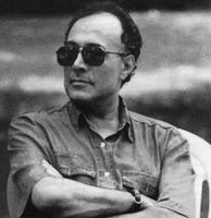 Abbas Kiarostami (1940–2016), an acclaimed Iranian film director