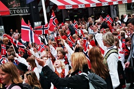 Norwegian Constitution Day, May 17.