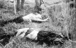 Vietnamese civilians of Phong Nhi village massacred by South Korean Blue Dragon Brigade in 1968